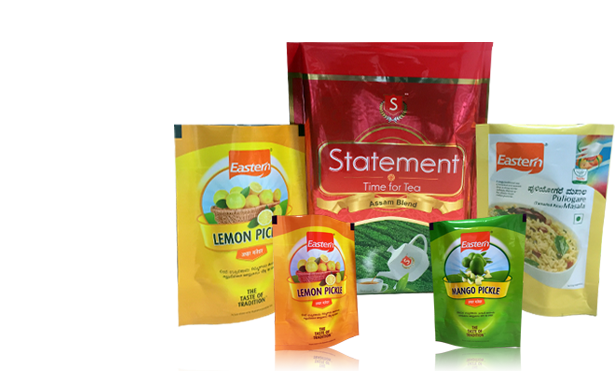 laminated pouches and Rolls in chennai